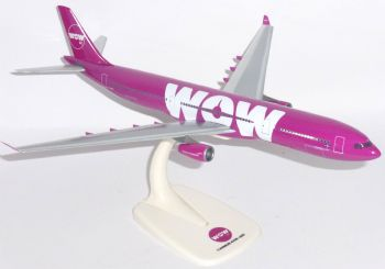 Airbus A330-300 Wow Air Iceland Collectors Desktop Model Scale 1:200 TF-WOW  E